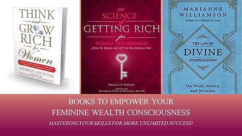 Books for Feminine Wealth Consciousness.