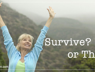 As a Feminine Entrepreneur, Are You Thriving or Merely Surviving in Your Business?