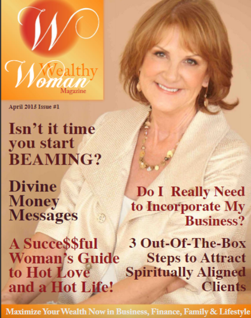 Wealthy Woman Magazine cover