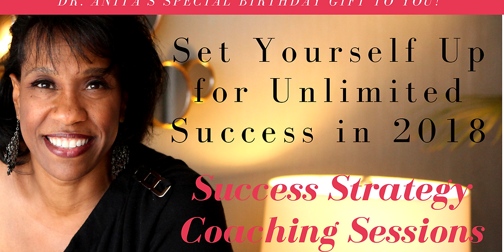 Your Success Strategy Coaching Sessions for 2018