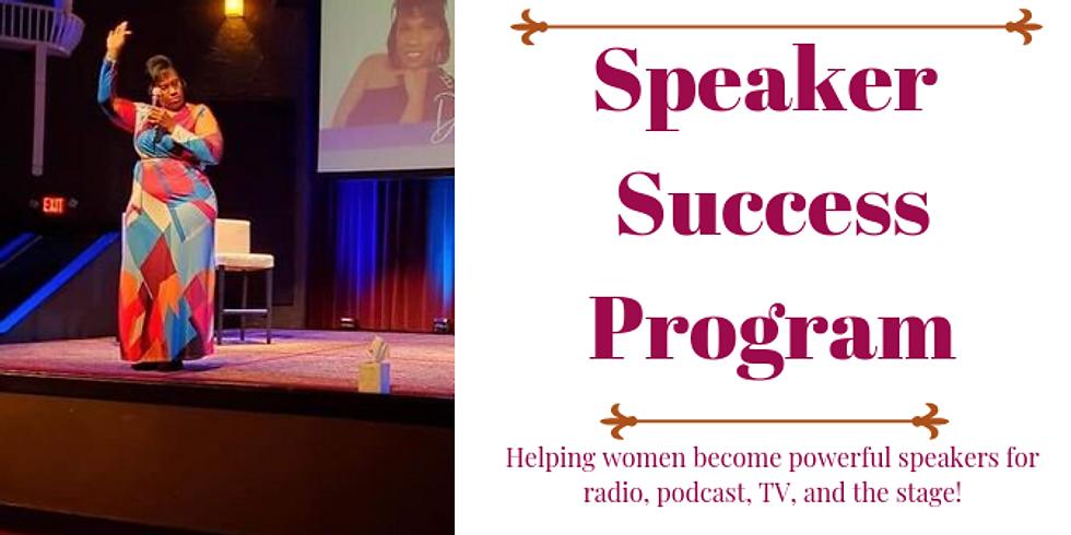 Speaker Success Program  - Session 2