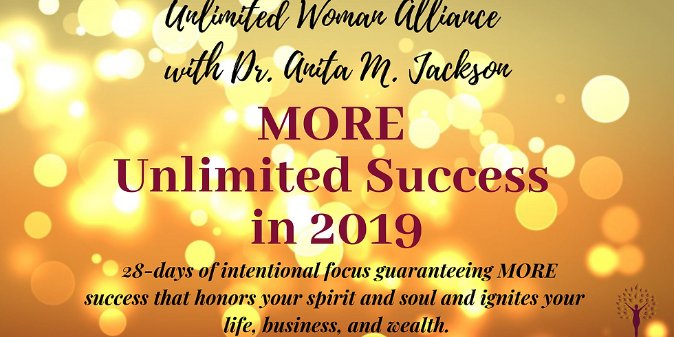 MORE Unlimited Success in 2019
