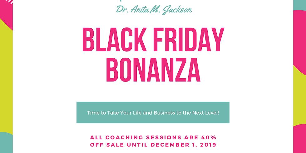 Dr. Anita's Black Friday Bonanza
