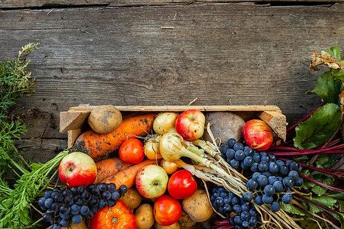 Caja de Frutas yVerduras