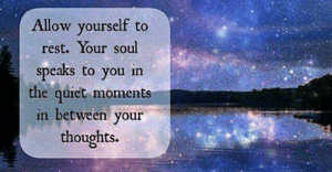 Listen to your soul