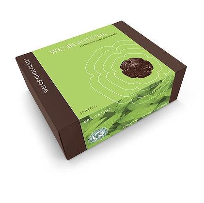 wei of chocolate wei beautiful peppermint organic dark chocolate