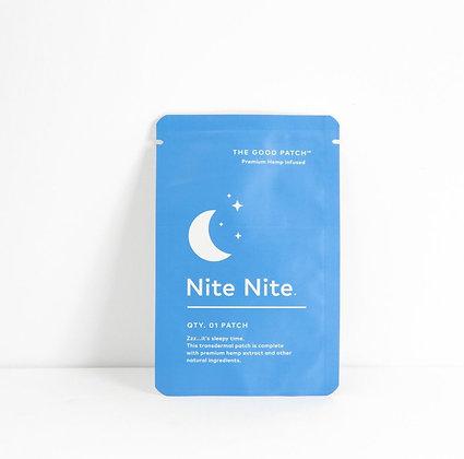 the good patch nite nite hemp patch
