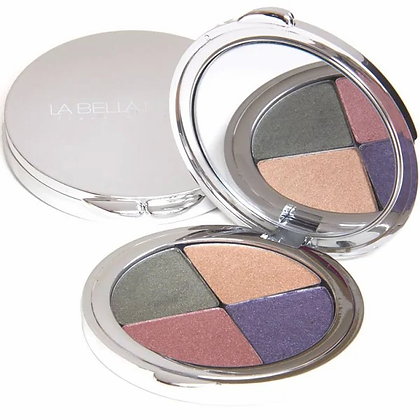 la bella donna despina mineral eye shadow folio compact