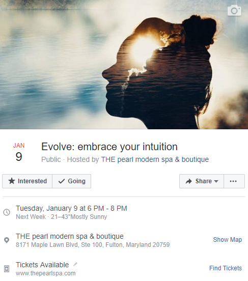 Join us and embrace your intuition