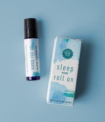 sleep essential oil roll on blend by woolzies