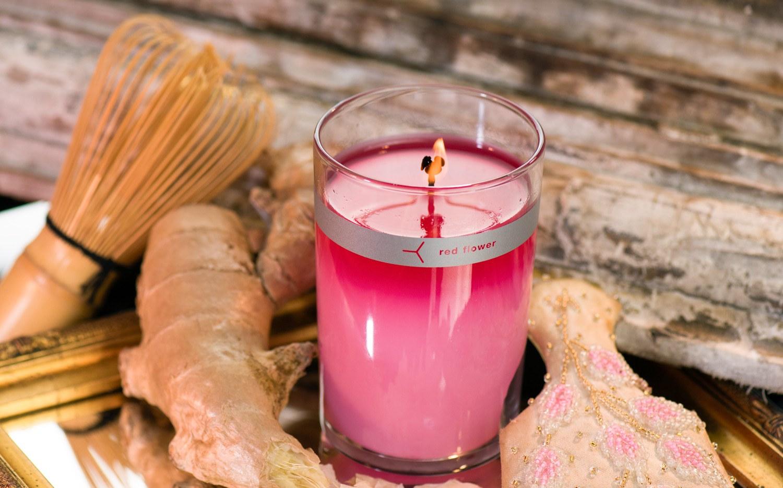 japanese peony candle