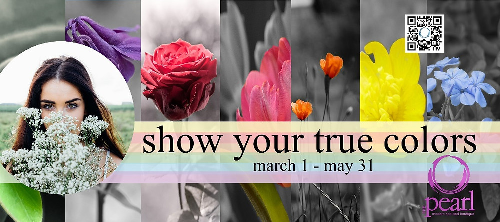 find your true colors this spring at THE pearl