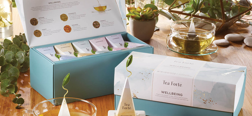 wellbeing tea collection