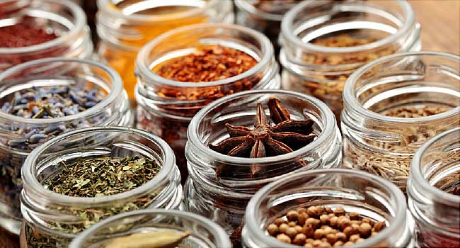 spices help reduce inflammation, a main cause of pain