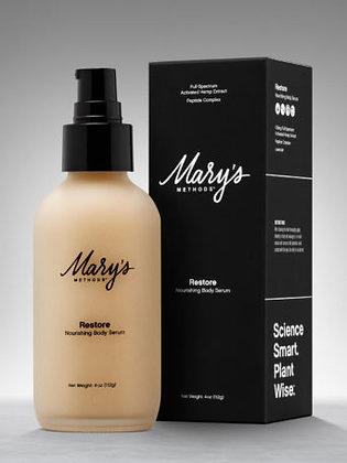 mary's nutritionals restore norishing body serum