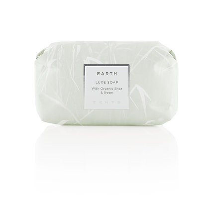 zents organic shea and neem luxe soap