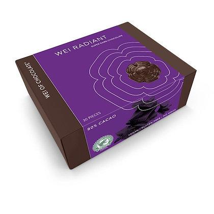 wei of chocolate wei radiant super dark organic chocolate