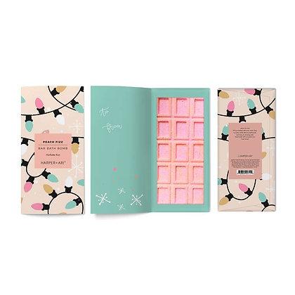 harper + ari candy bath bar holiday card