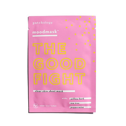 patchology the good fight sheet mask