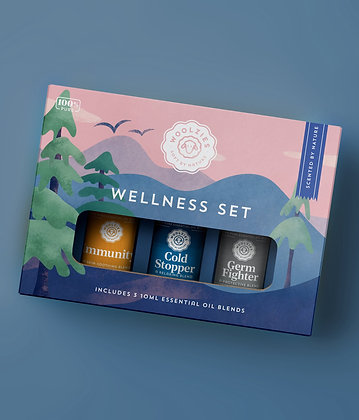 wellness essential oil collection by woolzies