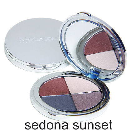 la bella donna sedona sunset mineral eye shadow compact