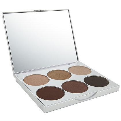 la bella donna clean color amalfi eye shadow palette