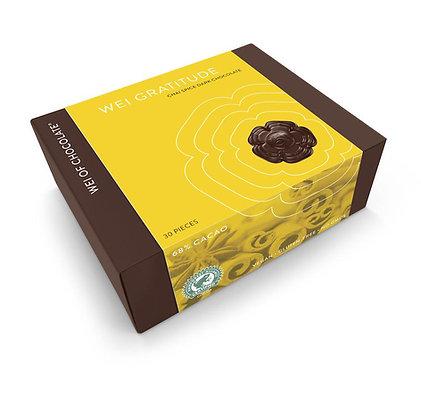 wei of chocolate wei gratitude chai dark organic chocolate