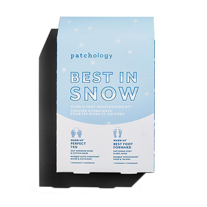 patchology best in snow hand + foot kit