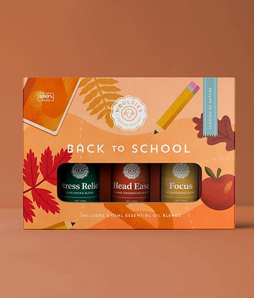 the school essential oil collection by woolzies