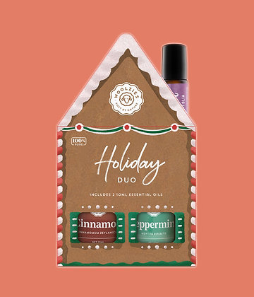 the gingerbread duo essential oil collection by woolzies