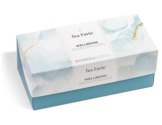 tea forte wellbeing box