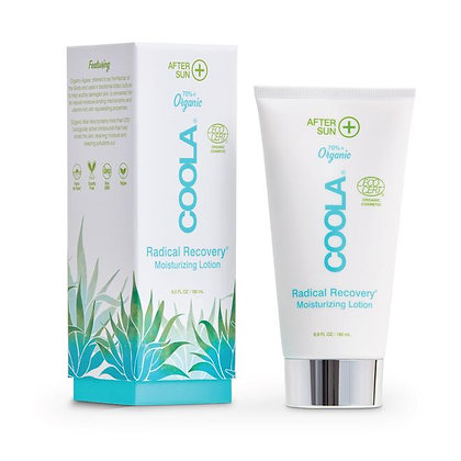 coola radical recovery organic after sun lotion