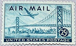 25 cent san francisco airmail stamp il_5