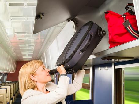 Можно ли перевозить в поезде крупногабаритный багаж?