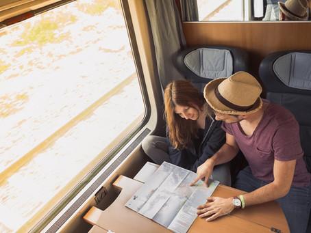 Куда можно поехать на поезде за границу?