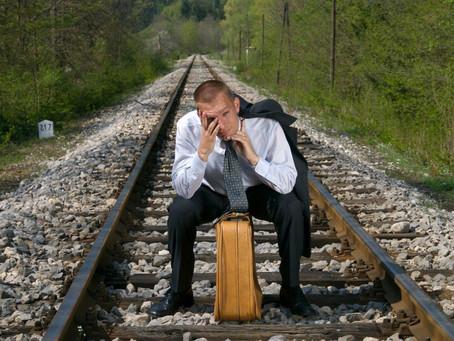 Что делать, если опоздали на поезд?