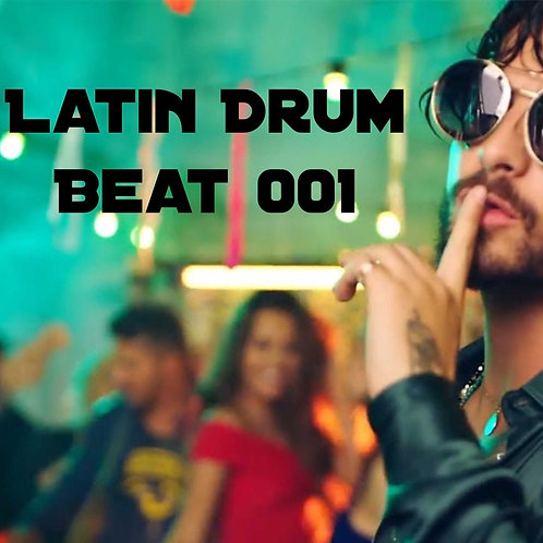 Latin Drum Beat #001 (Track Out)
