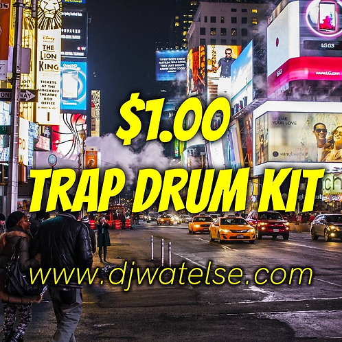 $1 Trap Drum Kit [Vol. 1]