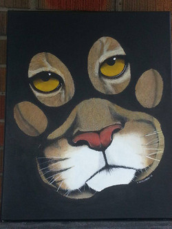 WILD PRINTS - Cougar