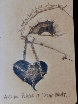 MY HEART IN YOUR HAND
