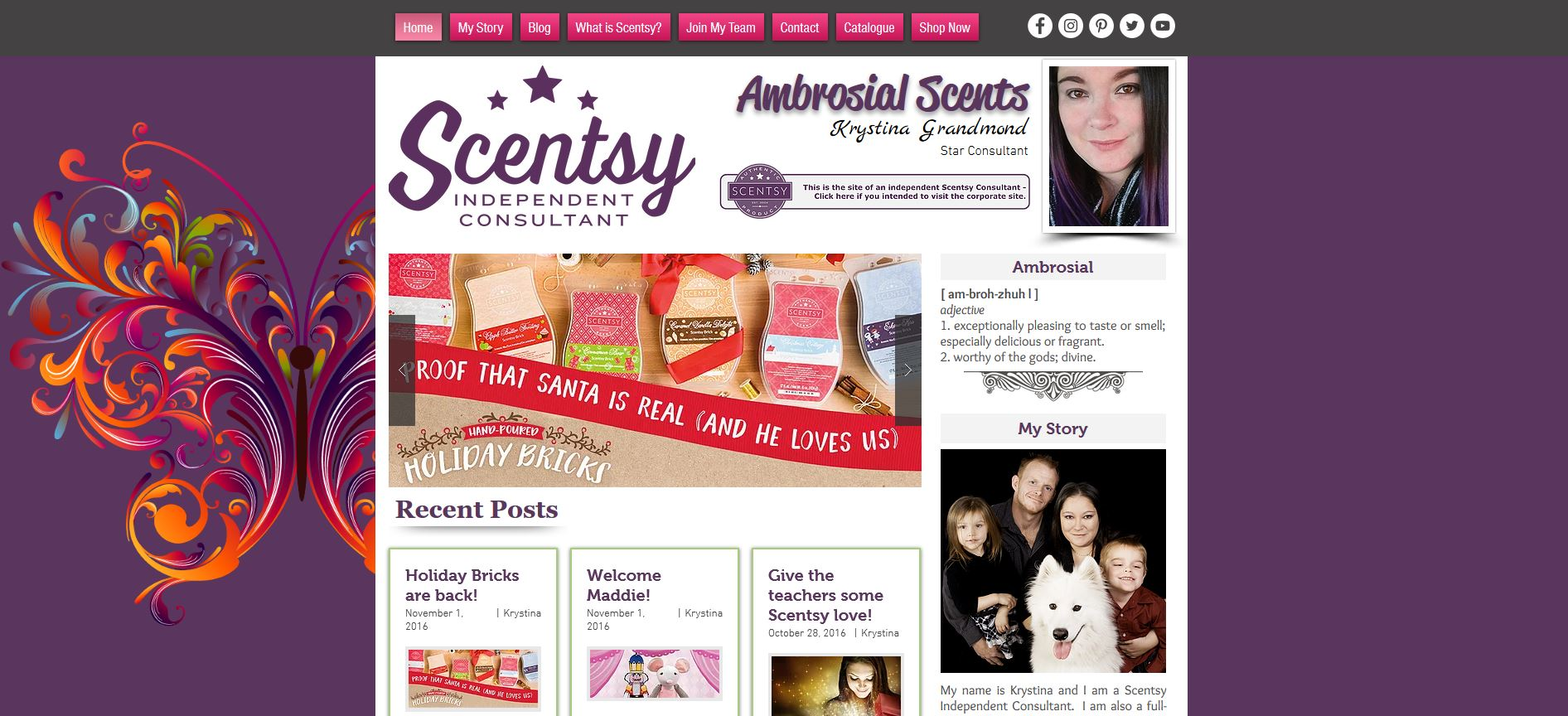AMBROSIAL SCENTS