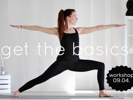 WORKSHOP- Get the basics