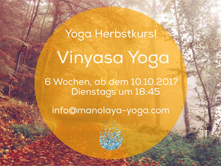 Yoga Basics from the 10th October 2017      6 weeks-course
