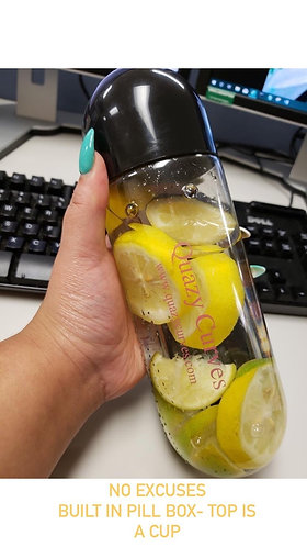Quazy Water Bottle