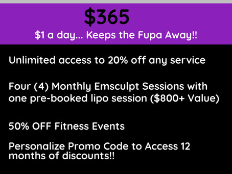 Annual Membership $365