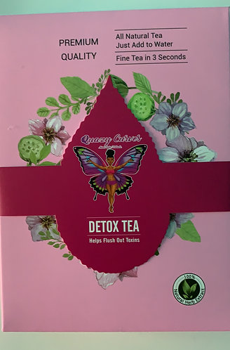 Quazy Curves Slimming And Detox Tea - ON THE GO (10 Packets Per Box)