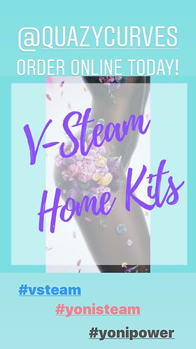 Home Kit V-Steam W/Yoni Herb Blend (Includes Seat, Yoni Herb Blend)