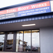 Colorado springs chiropractic in the same building as Total Body Works personal training
