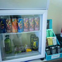 Colorado springs chiropractic selection of drinks and snacks for sale