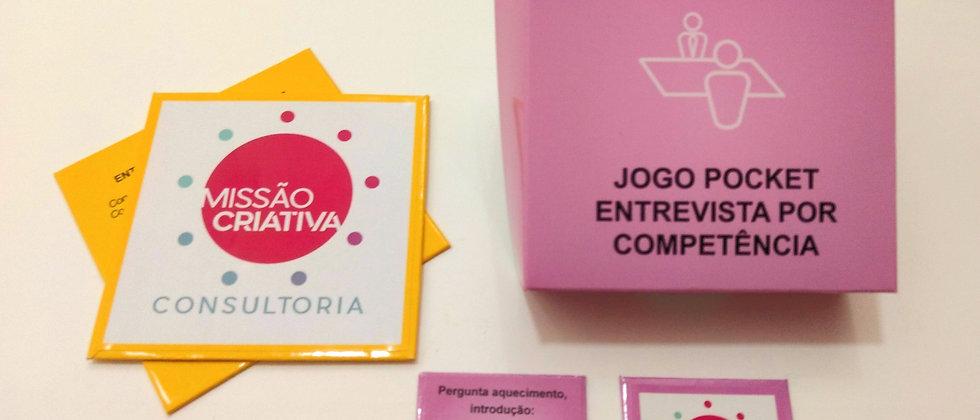 """Jogo Pocket: """"Entrevista por Competência"""""""